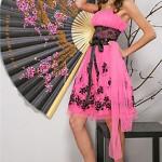 pink occasion dress