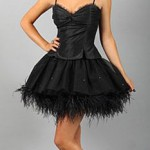 black party dress