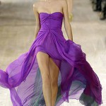beautiful violet prom dress